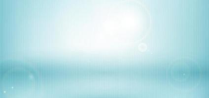Abstract blue blurred nature background with sunlight.