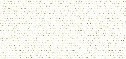 Abstract small gold dots seamless pattern on white background. vector