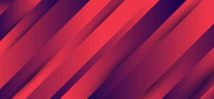 Stripes diagonal pattern blue and pink vibrant gradient color background texture minimal style vector