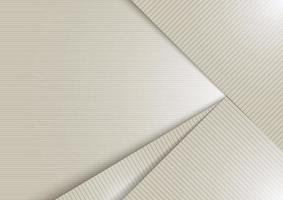 Abstract white shiny layer diagonal with stripes lines texture background vector