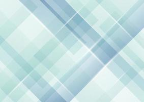 Abstract light blue stripes diagonal overlapping pattern background vector