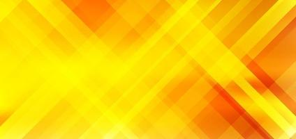 Abstract diagonal stripes yellow and orange gradient color background with lighting effect. vector