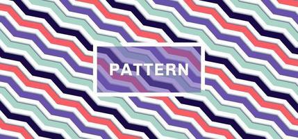 Fondo y textura de patrón de chevron 3d vector
