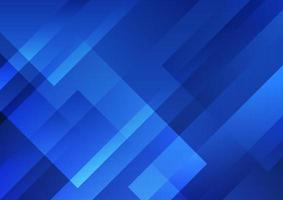 Abstract blue geometric shape overlay layer background technology style. vector