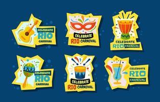 Rio Carnival Stickers