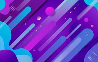 Modern Gradient Purple Blue Background vector
