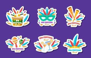 Rio Festival Sticker Collection