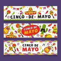 Cinco De Mayo Cute Banner