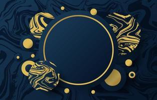 Dark Gold Inkscape Background vector