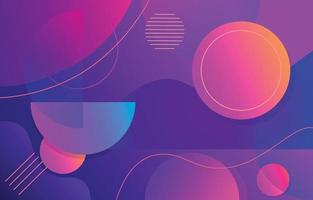 Abstract Gradient Geometric Background vector