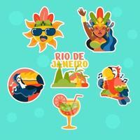 Happy Dance of Rio Carnival