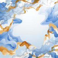 Inkscape Elegant Blue Background vector