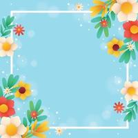 Spring Nature Template Background