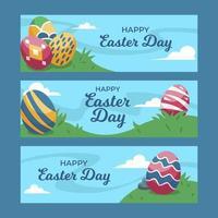Easter Egg's Banner vector