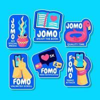 Various Representation of FOMO VS JOMO vector