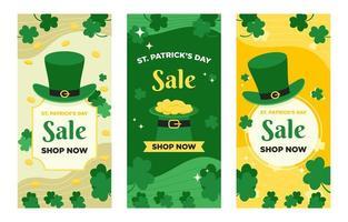 Saint Patrick's Day Banner vector