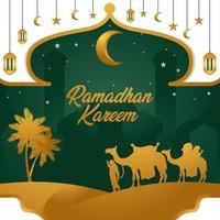 Celebrating Ramadhan Season vector
