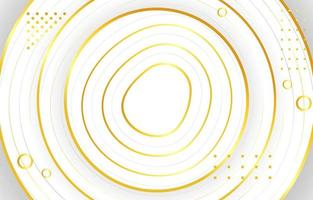 elegante oro blanco vector
