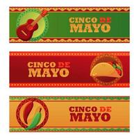 Cinco De Mayo Banner vector