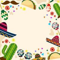 Cinco De Mayo Festival Background vector