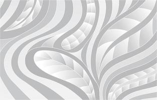 Fondo de hojas blancas abstractas vector