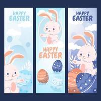 Hunter Egg Banner vector