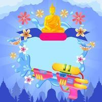 Illustration for Song Krang Background Event vector