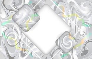 Grey Inkscape with Rainbow Streak Background vector