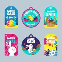 Easter Sale Label Set vector