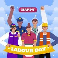 Labour Day Design vector
