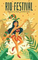 Brazilian Annual Carnival vector