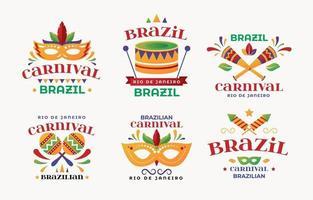 Rio Festival Banners vector