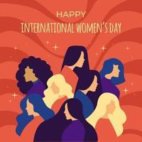 women's Day Concept vector