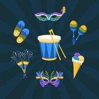 Rio Festival Icon vector