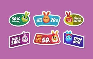 Cute Bunny Eggs On Easter Sale