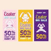 Easter Big Sale Banner vector