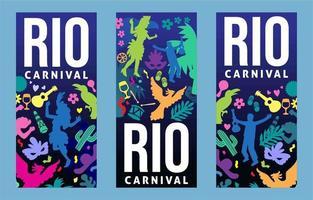 Rio Carnival Festival vector