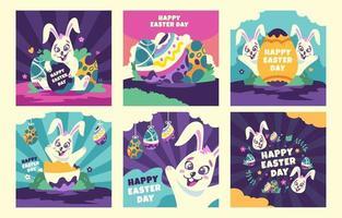 Easter Day Social Media Post vector
