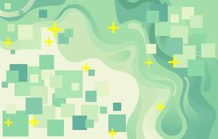 Abstract Green Color Background vector