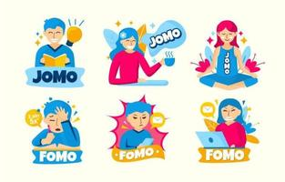 Fomo Jomo Sticker Collection