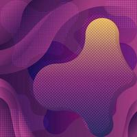 Abstract Background with Fluid and Wave Shapes vector