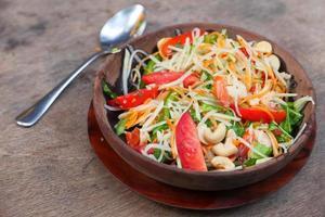 ensalada de verduras de colores foto