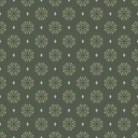 patrón de flor étnica abstracta de tela, patrón transparente de estilo de ilustración vectorial. diseño para tela, cortina, fondo, alfombra, papel pintado, ropa, envoltura, batik, tela, azulejo vector