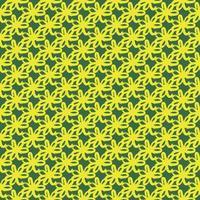 patrón de fondo de textura transparente de vector. dibujados a mano, verde, colores amarillos. vector