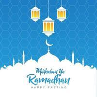 Stock Vector Ramadhan Greeting Background