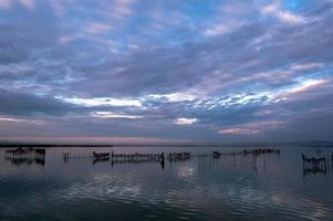 Estuario de la Albufera de Valencia, España foto