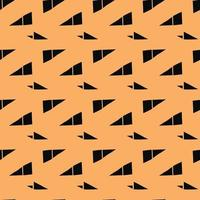 Vector seamless texture background pattern. Hand drawn, orange, black colors.