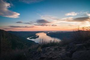 Sunset view from Angels Rest