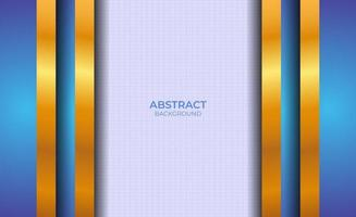 Background Blue And Gold Abstract Presentation vector
