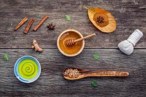 Autumn skincare treatment